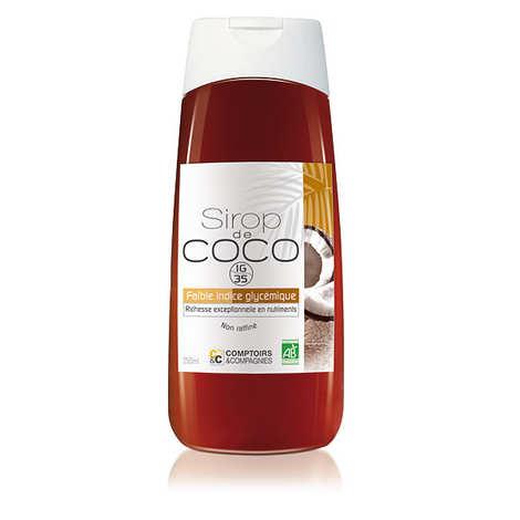 Comptoirs et Compagnies - Sirop de coco liquide bio