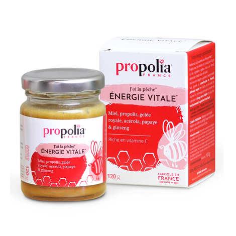 Propolia - Energie Vitale - Miel, propolis et gelée royale