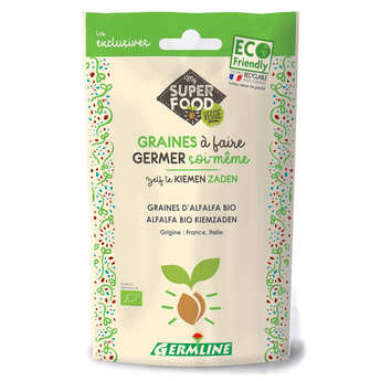 Germline - Organic Alfalfa - Seeds To Sprout