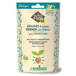 Germline - Organic Alfalfa, Rocket - Seeds To Sprout