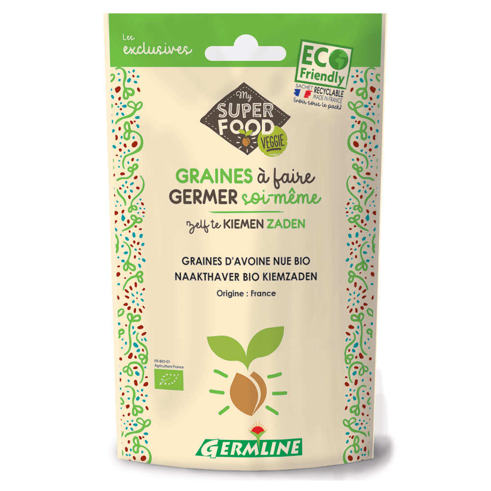Organic Oat - Seeds To Sprout