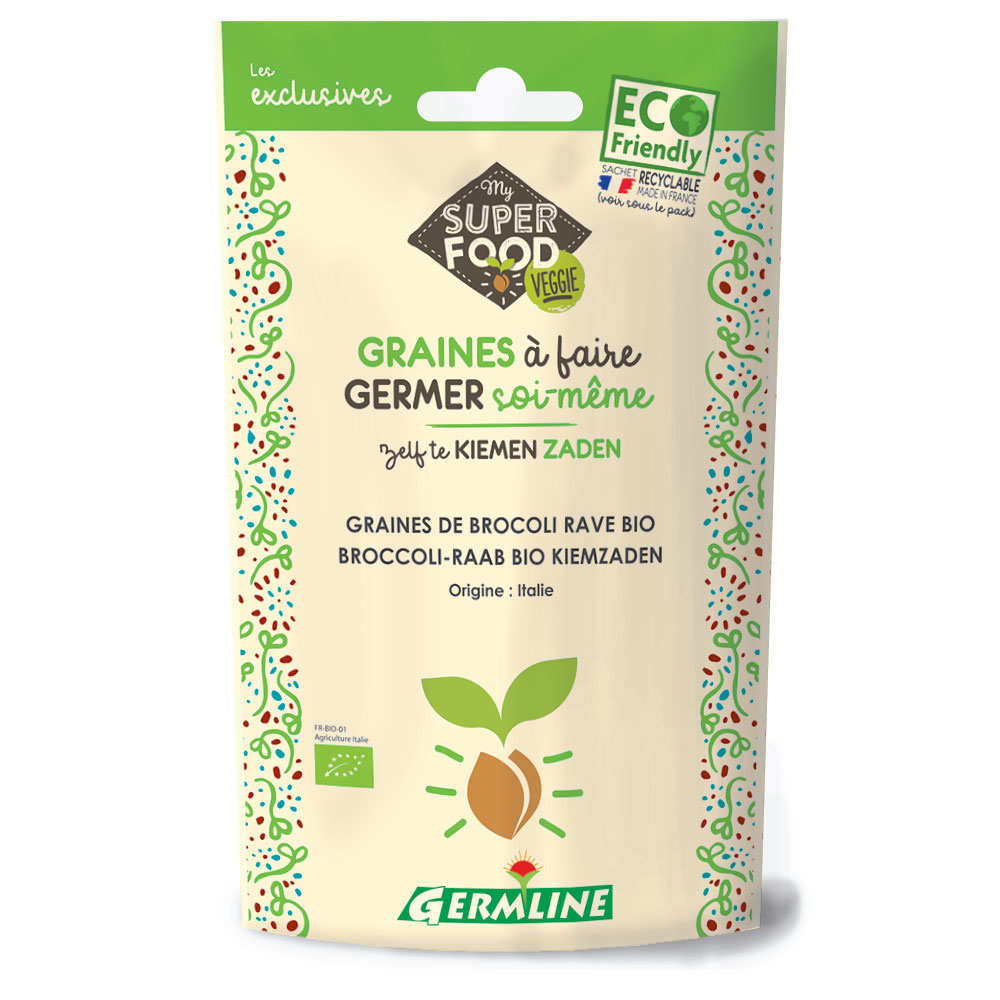 Organic Broccoli - Seeds To Sprout