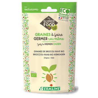 Germline - Organic Broccoli - Seeds To Sprout