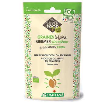 Germline - Brocoli calabrais bio - Graines à germer