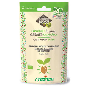 Brocoli calabrais bio - Graines à germer