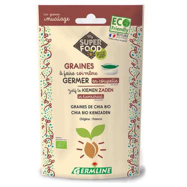Chia bio - Graines à germer