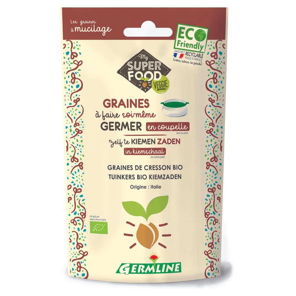 Cresson bio - Graines à germer