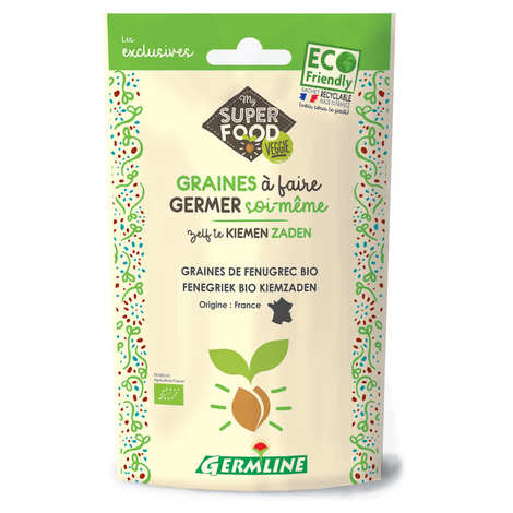 Germline - Organic Fenugreek - Seeds To Sprout