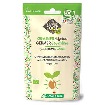 Germline - Organic Mung Bean (Green Soybeans) - Seeds To Sprout
