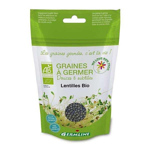 Lentilles bio - Graines à germer