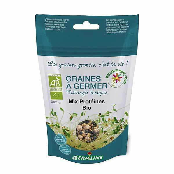 Organic Chickpeas, Lentils and Fenugreek Mix - Seeds To Sprout