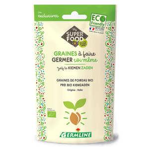Germline - Poireau bio - Graines à germer