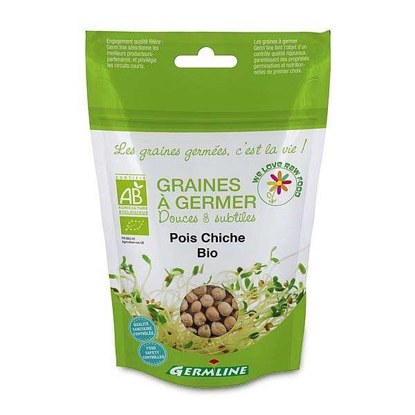 Organic Chickpeas - Seeds To Sprout