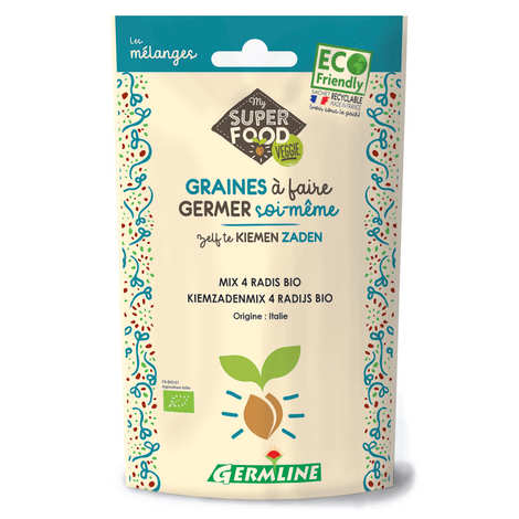 Germline - Organic 4 Radish Mix - Seeds To Sprout