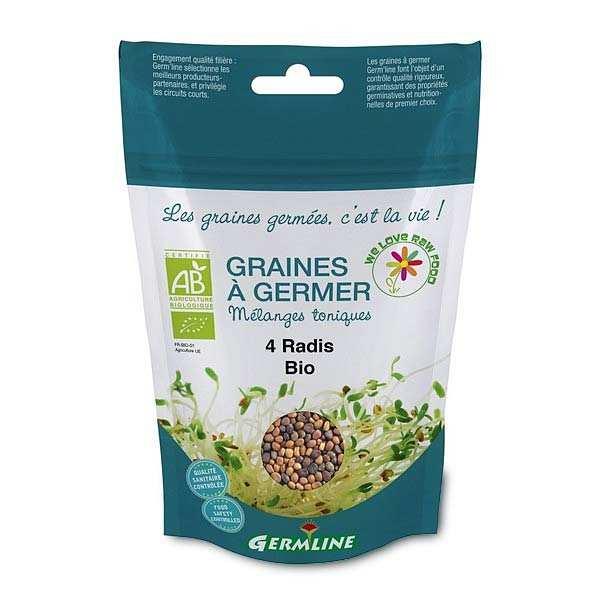 Mélange 4 radis bio - Graines à germer