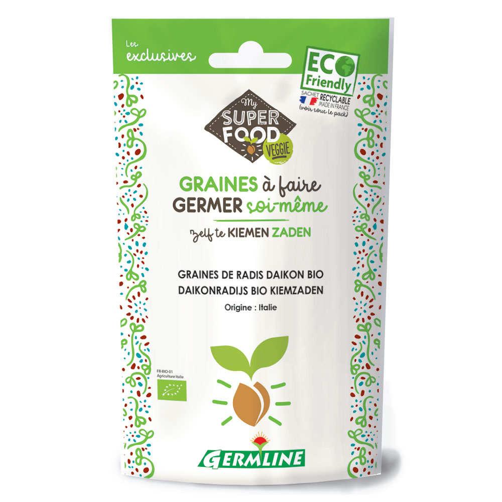 Organic Daikon Radish - Seeds To Sprout