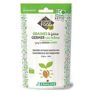 Germline - Radis daikon bio - Graines à germer