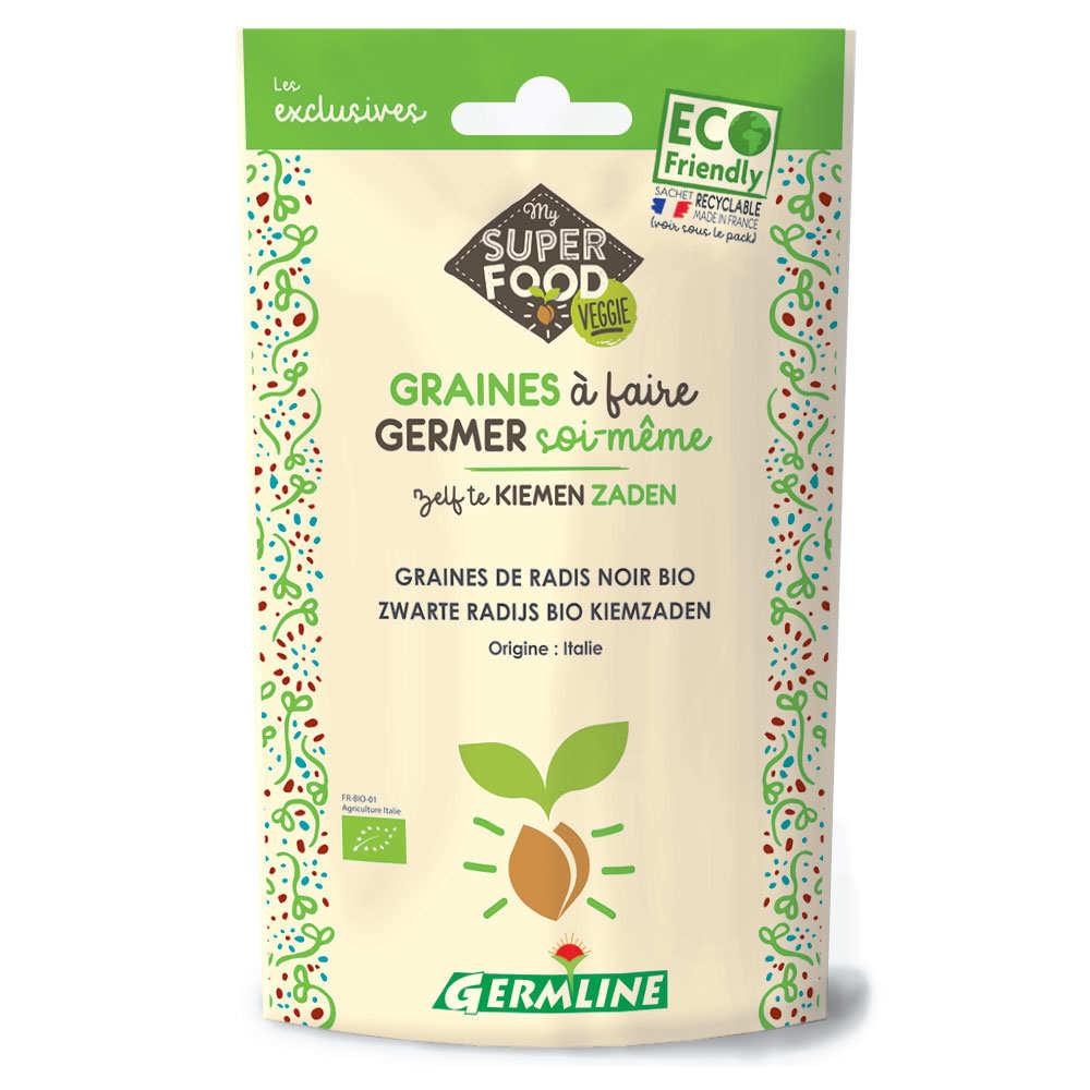 Organic Black Radish - Seeds To Sprout