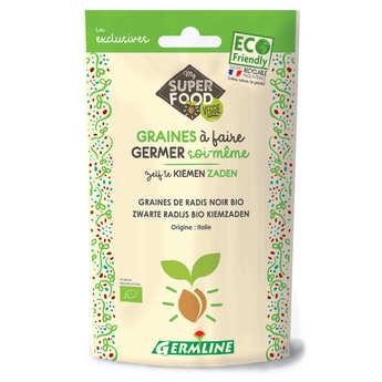 Germline - Radis noir bio - Graines à germer