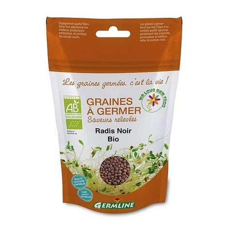 Germline - Organic Black Radish - Seeds To Sprout