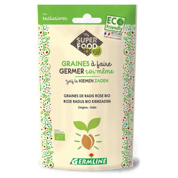Radis rose bio - Graines à germer