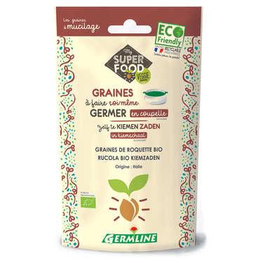 Roquette bio - Graines à germer