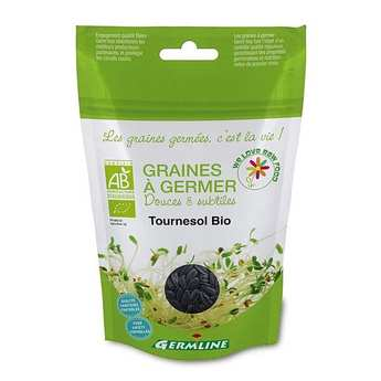 Germline - Organic Whole Sunflower - Seeds To Sprout