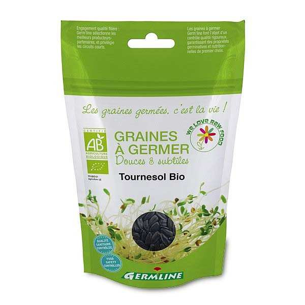 Organic Whole Sunflower - Seeds To Sprout