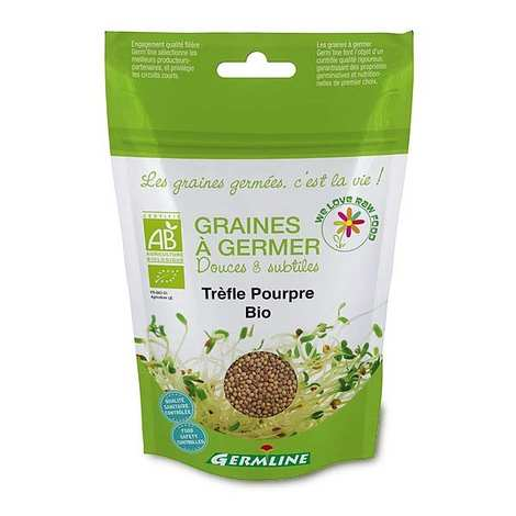 Germline - Trèfle pourpre bio - Graines à germer