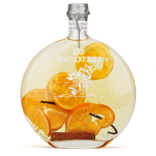 Punch léger au rhum arrangé à l'orange (schrub) 18%