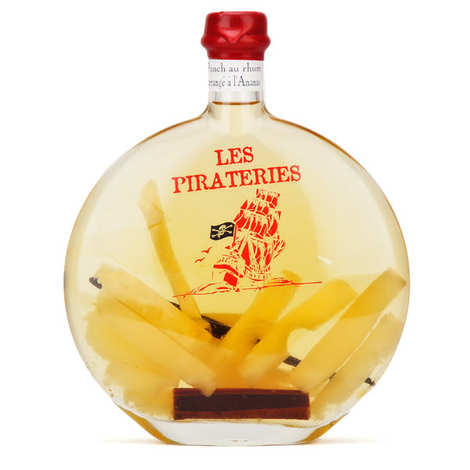 Liqueurs Fisselier - Rum Punch With Pineapple - 30%