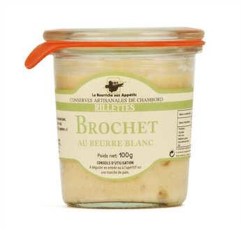 La Bourriche aux Appétits - Rillettes de brochet au beurre blanc