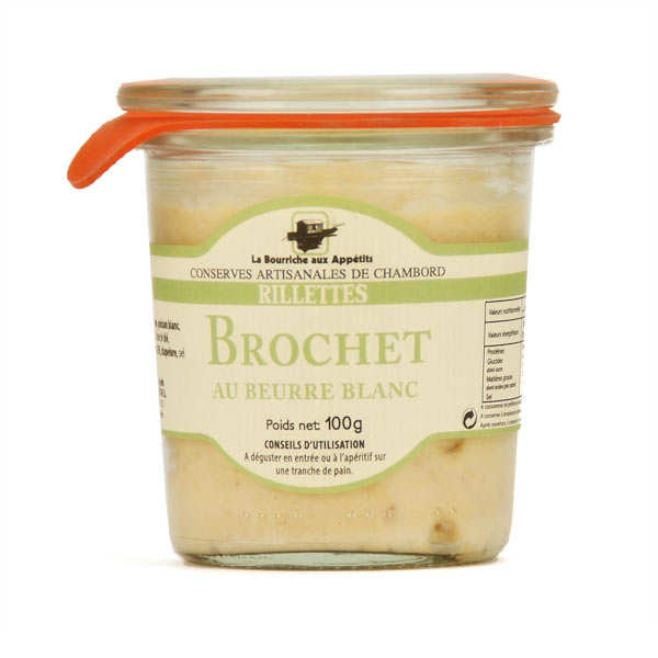 Pike Rillette with White Butter