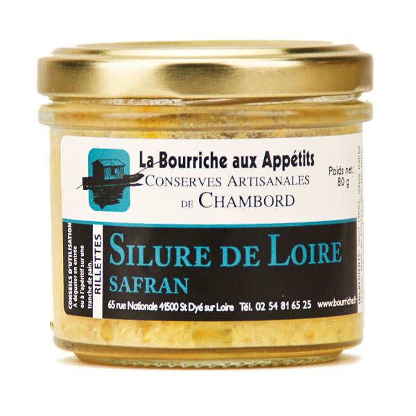 Rillettes de silure de Loire au safran