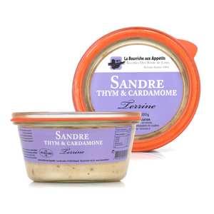 La Bourriche aux Appétits - Terrine de sandre au thym et cardamome