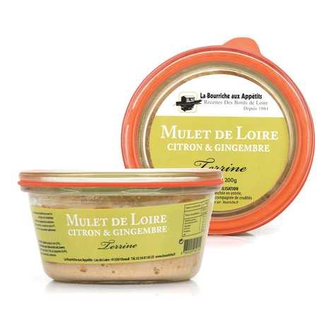 La Bourriche aux Appétits - Terrine de mulet au citron et gingembre