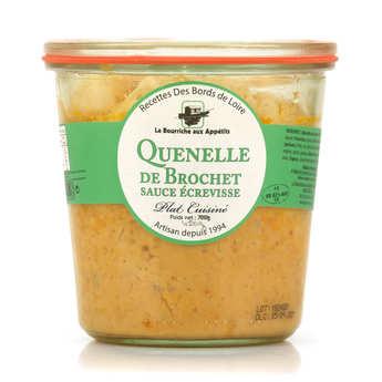 La Bourriche aux Appétits - Pike Quenelles with Crayfish Sauce