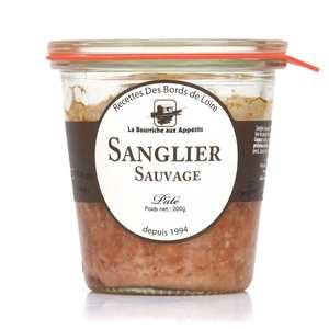 La Bourriche aux Appétits - Paté de sanglier sauvage de Chambord