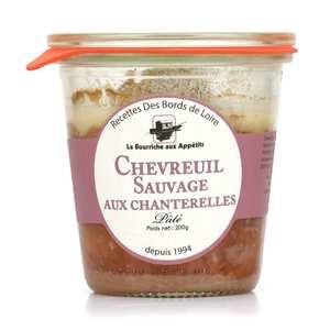 La Bourriche aux Appétits - Paté de chevreuil sauvage de Sologne aux chanterelles