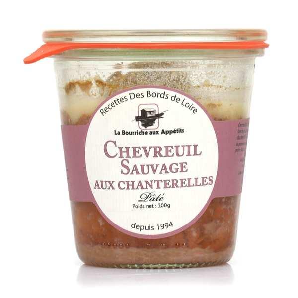 Paté de chevreuil sauvage de Sologne aux chanterelles