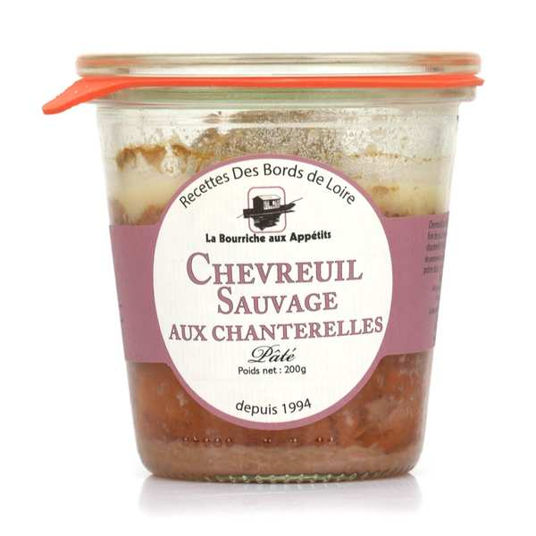 Paté of Wild Deer from Sologne with Chanterelles