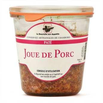 La Bourriche aux Appétits - Terrine de noix de joue de Porc