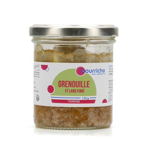 La Bourriche aux Appétits - Pâté de cuisses de grenouilles et lard fumé