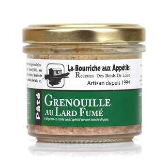 La Bourriche aux Appétits - Thigh Frog and Bacon Paté