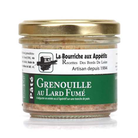 La Bourriche aux Appétits - Thigh Frog and Bacon Paté