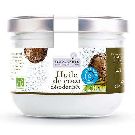 BioPlanète - Huile de coco désodorisée Bio