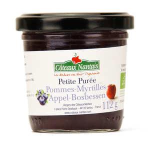 Coteaux Nantais - Purée de pommes myrtilles bio