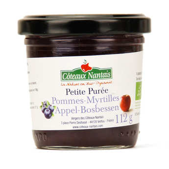 Coteaux Nantais - Organic Blueberries ApplesPuree