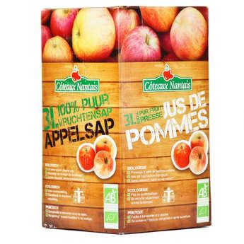 Coteaux Nantais - Jus de pomme bio 100% pur jus - BIB 3 litres