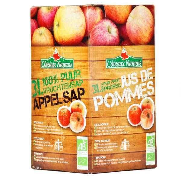 Jus de pomme bio 100% pur jus - BIB 3 litres